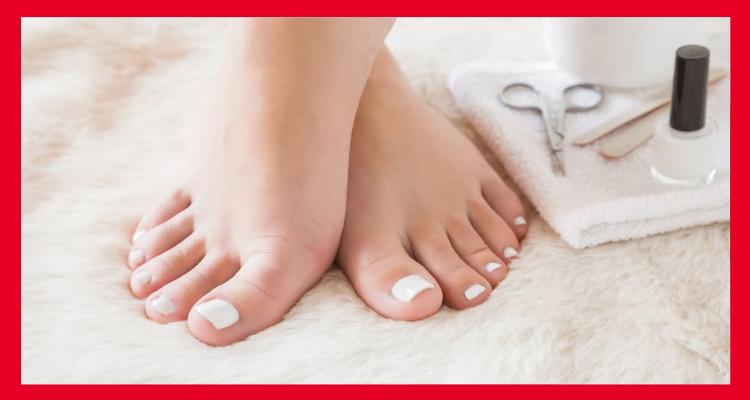 Cómo ablandar las uñas de los pies