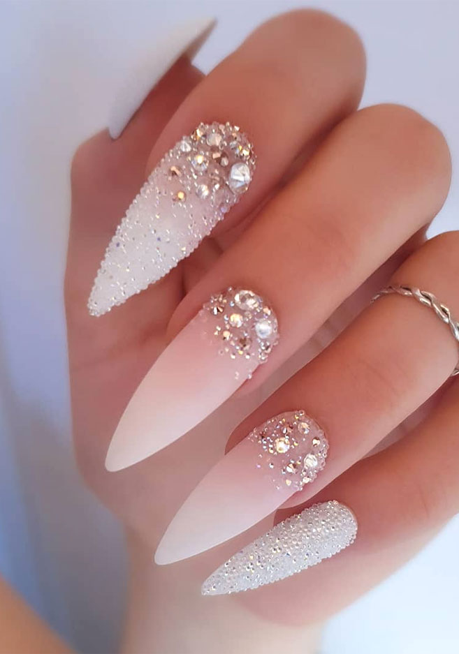 Impresionantes Diseños de uñas para bodas y un verdadero wow nail-designs 6