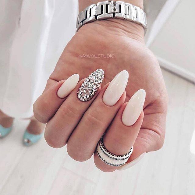 Impresionantes Diseños de uñas para bodas y un verdadero wow nail-designs 7