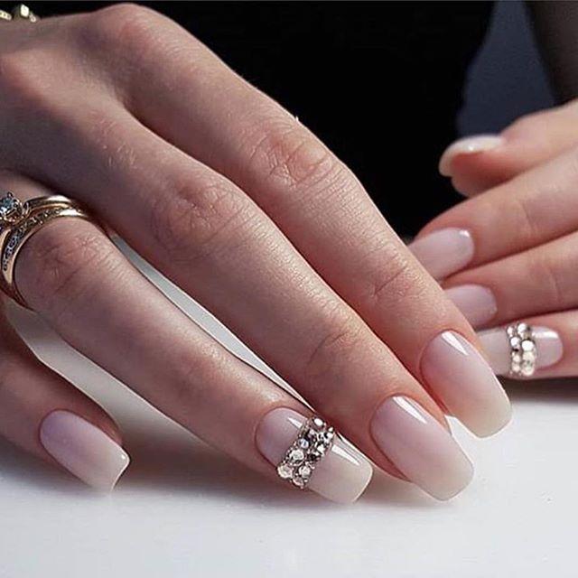 Impresionantes Diseños de uñas para bodas y un verdadero wow nail-designs 9