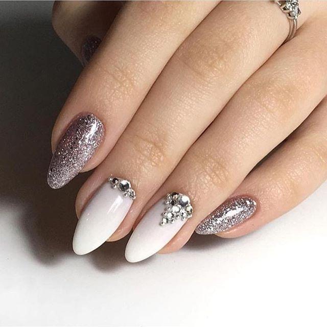 Impresionantes Diseños de uñas para bodas y un verdadero wow nailart 11