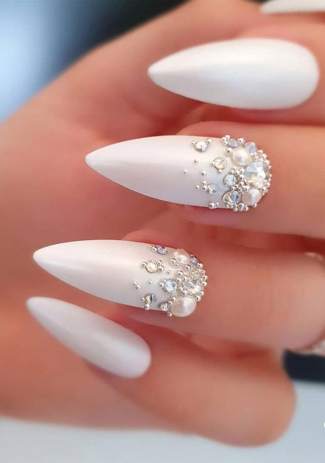 Impresionantes Diseños de uñas para bodas y un verdadero wow nailart 13