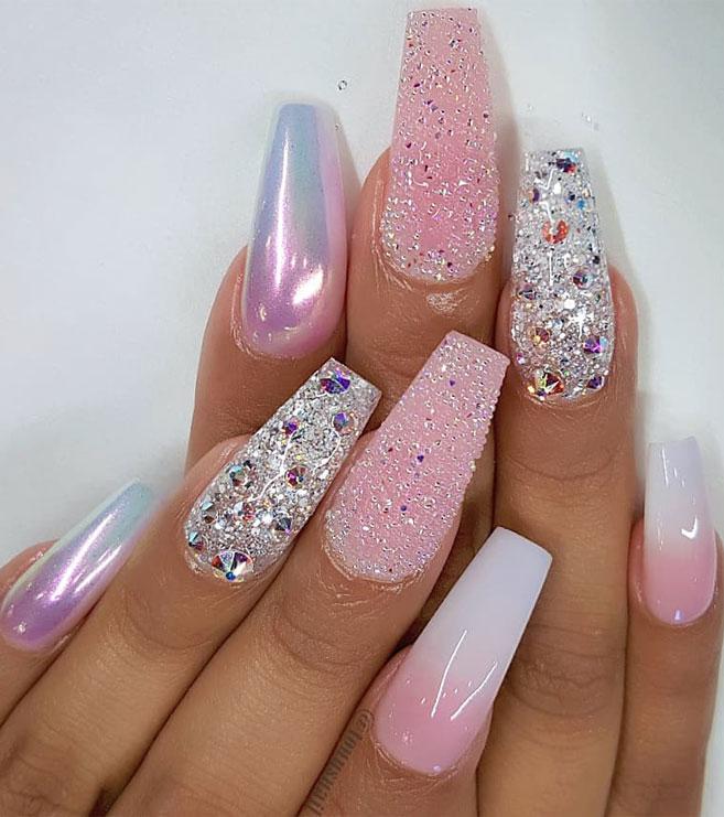 Impresionantes Diseños de uñas para bodas y un verdadero wow nailart 17