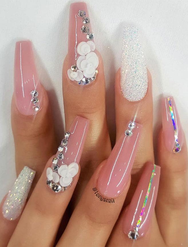Impresionantes Diseños de uñas para bodas y un verdadero wow nailart 18