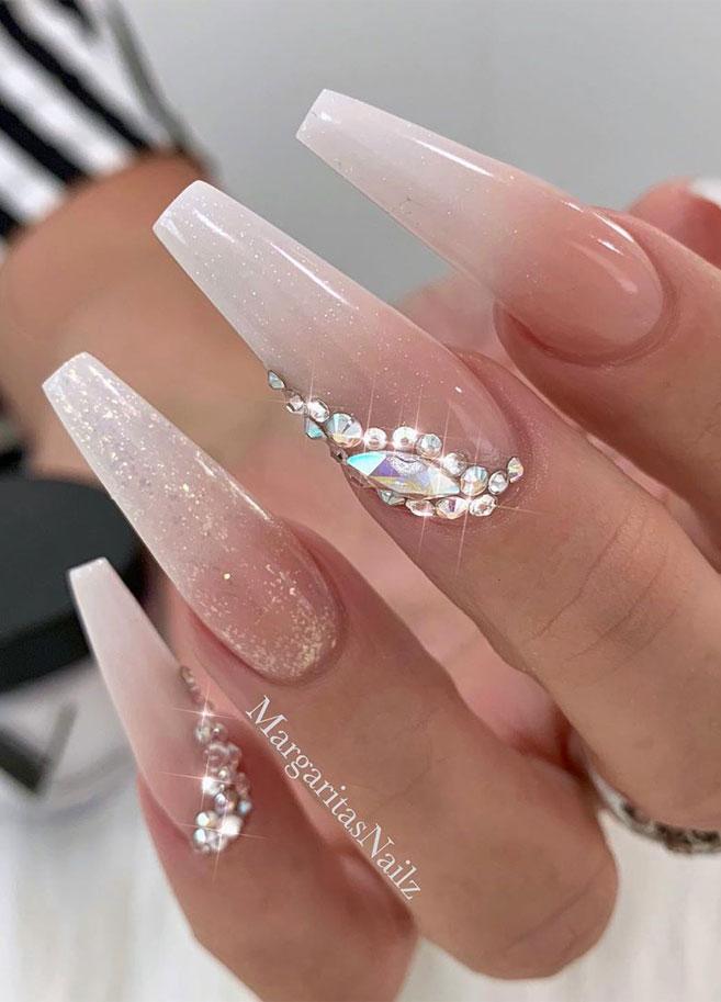 Impresionantes Diseños de uñas para bodas y un verdadero wow nailart 19