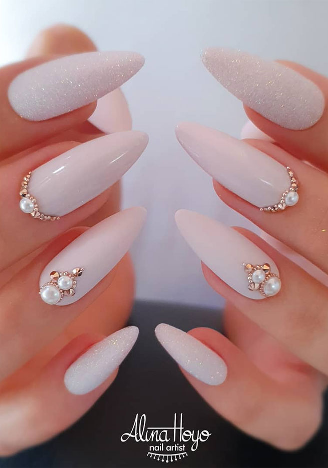 Impresionantes Diseños de uñas para bodas y un verdadero wow nailart 21