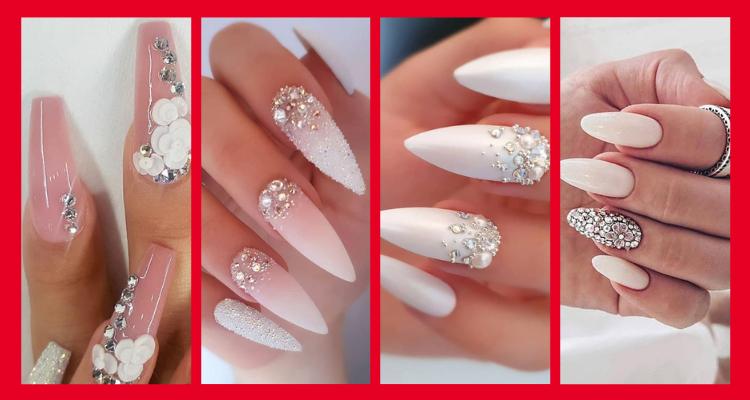Impresionantes Diseños de uñas para bodas y un verdadero wow
