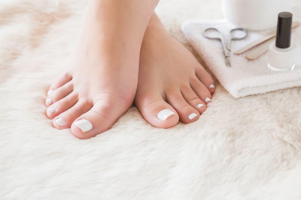Pedicure cómo ablandar las uñas de los pies