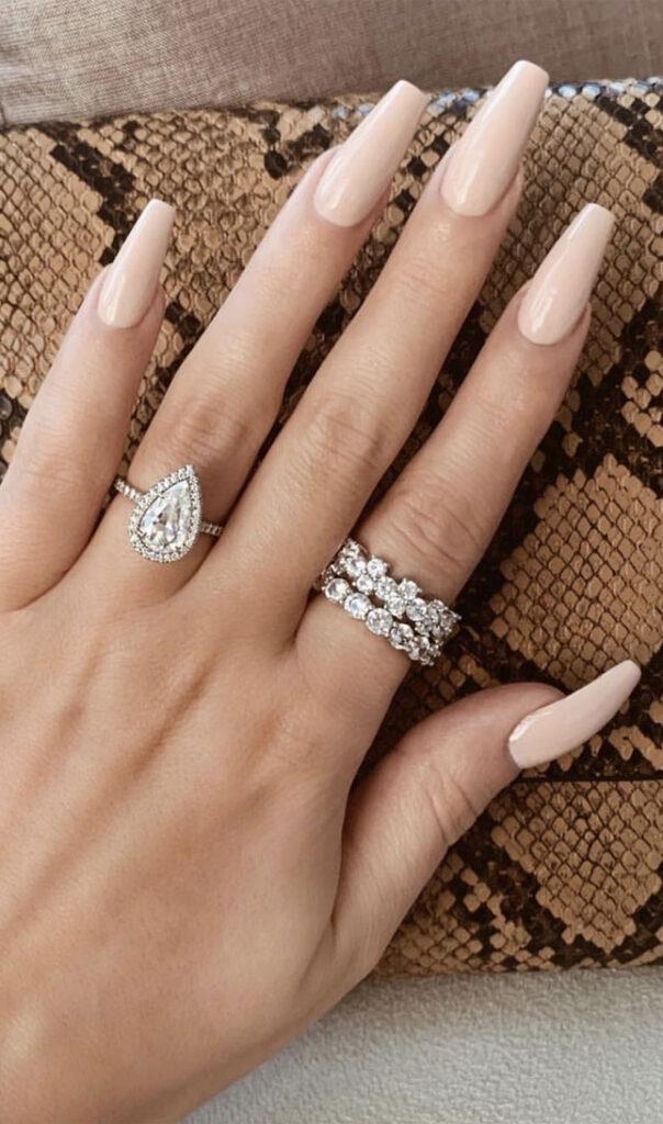 diseños de uñas 2021 elegantes