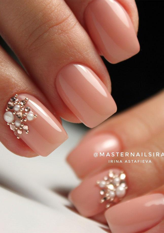 diseños de uñas para matrimonio fuente instagram masternailsira