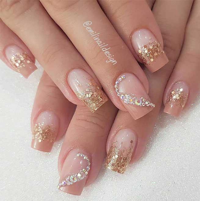 diseños de uñas para matrimonio
