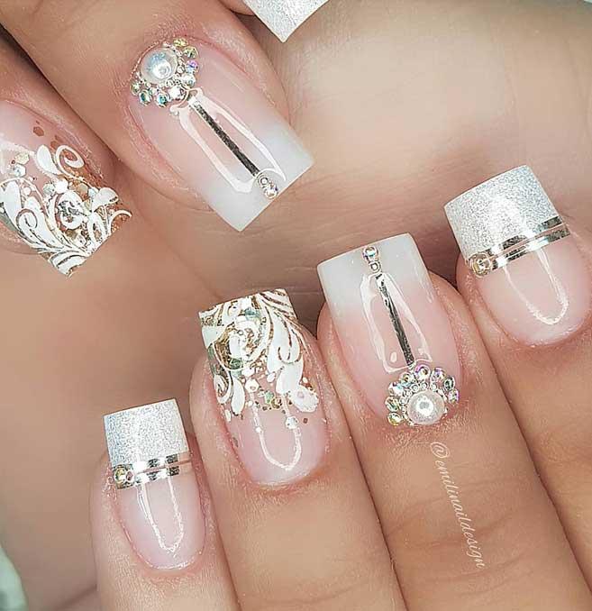 uñas para boda